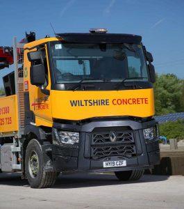 wiltshire concrete lorry